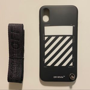 Offwhite iPhone X case
